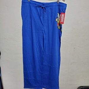 Marvel Men's Lounge pants size 2XL NWT